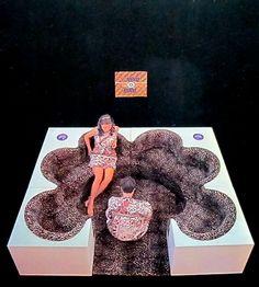 "Archizoom Associati  ""Safari""  Sectional couch  1967 // MONDOBLOGO"