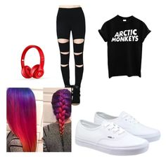 """""""Untitled #13"""" by vieveg on Polyvore featuring Vans, Beats by Dr. Dre, women's clothing, women's fashion, women, female, woman, misses and juniors"""