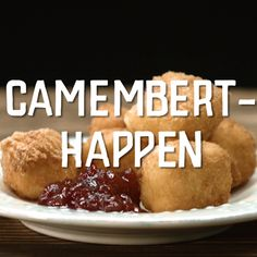 Camembert-Happen - Sites new Party Finger Foods, Snacks Für Party, Appetizers For Party, Appetizer Recipes, Snack Recipes, Tasty Videos, Food Videos, Tapas, Queijo Cottage