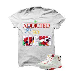 78bfad714ba7ae Addicted To Kicks Hare 7s White T Shirt
