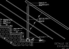 staircase details | Stair detail in AUTOCAD DRAWING ...
