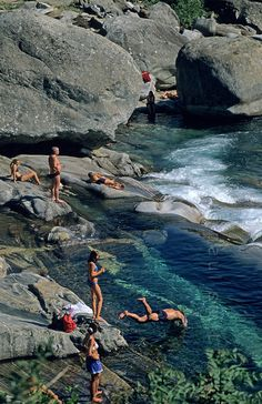 Verzasca River,Switzerland: