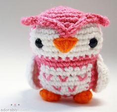 Adorable! Owl amigurumi!