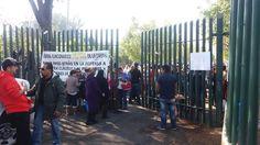 Los sindicalizados impidieron el ingreso a los participantes en el encuentro que se realizaría en el CIAC de la UMSNH; sin embargo, finalmente los funcionarios y especialistas buscaron una sede ...