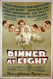 Dinner at Eight  pre code 1933.