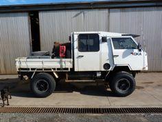 1e204809cd OKA 4WD offroad vehicle tray back Australia. Interesting rig. Off Road  Camper