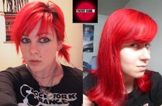 Cherry Bomb Semi Permanent Hair Dye By Special Effects