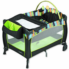 The best baby gear - Today's Parent; Evenflo Portable Babysuite 300