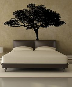 45 Comfy Bedroom Design With Tree Wall Decor Ideas - Tree wall decals are a great way to create the perfect wall design whether that is a fanciful forest or a simple scroll tree design or even if you wan. Wall Decals For Bedroom, Wall Decal Sticker, Bedroom Decor, Tree Bedroom, Wall Stickers, Vinyl Decals, Bedroom Ideas, African Bedroom, African Tree