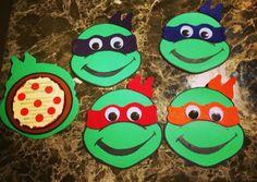 DIY Ninja Turtle Invitations