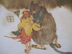 Lizbeth Zwerger's illustrations of Thumbalina by Hans Christian Anderson