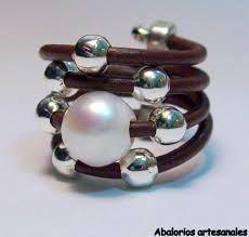 anillo de perlas