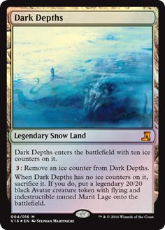 Dark Depths mtg Magic the Gathering FTV: Lore