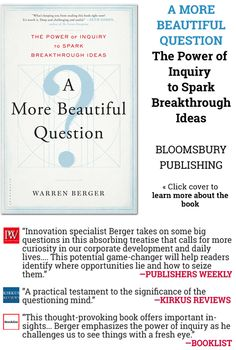 Announcing A More Beautiful Question