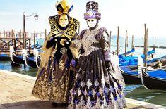 Disfraces del Carnaval de Venecia