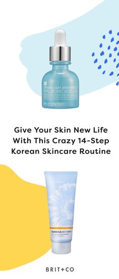 Give your skin new life with this crazy 14-step Korean skincare and beauty routine.