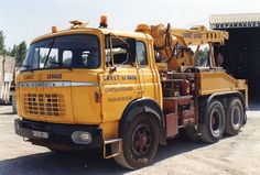 BERLIET TR 250 6X4 - Canet Levage depannage of France