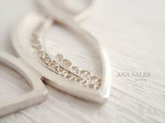 True Filigree RAMI Necklace Sterling Silver by AnaSalesJewelry