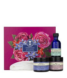 NEW Indulge Rose Organic Spa Collection, Neal's Yard Remedies