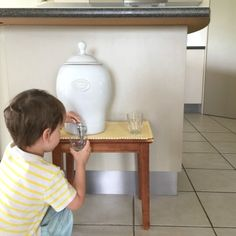 """This is Montessori - a candid view. In Montessori, we avoid using sippy cups. As the Michael Olaf website explains, """"A cup with a top that prevents spills interrupts the natural development of the child's control of movement, and the development of skills of observation and logical consequence."""""""