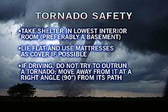 Important Tornado Safety Tips to Follow