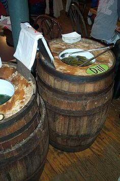 Barrel pickles,  Old Brooklyn @Jenna Sawyer  you need one of these!