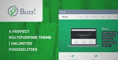 Download and review of Buzz- Multipurpose WordPress Theme, one of the best Themeforest Corporative themes