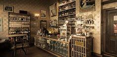 Shops in Berlin – Absinth Depot. Hg2Berlin.com.
