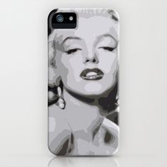 Marilyn Monroe iPhone & iPod Case by  David Somers - $35.00