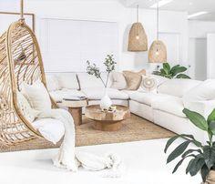 Our brand new Rio De Janeiro Sofa…….so super comfy that you lay back, sink i… – Home Decor&Remodel Living Room White, Boho Living Room, White Rooms, Home And Living, Living Room Decor, Natural Living Rooms, Earthy Living Room, Living Room Inspiration, Home Decor Inspiration