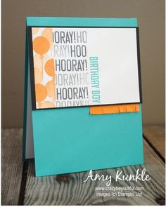 Hooray It's Your Day, What's Up Wednesday, drawing straight lines, stampin' Trimmer It's Your Birthday, Birthday Cards, Paper Pumpkin, Masculine Cards, Creative Studio, Scrapbook Paper, Stampin Up, Paper Crafts, Invitations