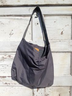 Repurposed Tent Market Tote On Etsy 30 00 Find This Pin And More Unique Handmade Bags