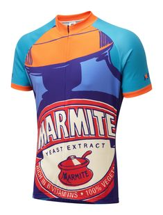 Marmite Pop-Art Road Cycling Jersey ec890c46e