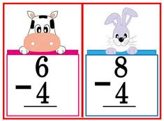 These flashcards are great for classroom practice on subtraction problems. Use them for your math drills to develop skill in mental math. Math Drills, Visual Aids, Picture Cards, Kindergarten Teachers, Best Teacher, Flashcard, Classroom, Education, School