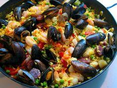 Paella do Mar   A Cozinhar com simplicidade