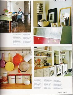 Can I come an live with you Orla? Orla Kiely's London home.