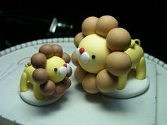 Fimo polymer clay 軟陶奶油獅 | Flickr - Photo Sharing!