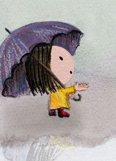 Hey, I found this really awesome Etsy listing at https://www.etsy.com/listing/85294421/rainy-day-all-4-aceo-prints-signed-cute