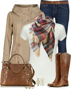 Wintertime outfit idea