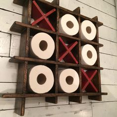 Toilet Roll Holder by SalvageAndReclaimed on Etsy https://www.etsy.com/listing/263007241/toilet-roll-holder
