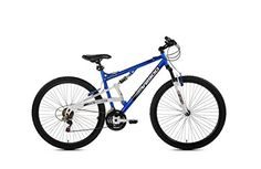 29 Genesis V2900 Full Suspension Mens Mountain Bike BlueWhite >>> Read more reviews of the product by visiting the link on the image.