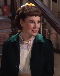 June Allyson as Jo in Little Women. She had the cutest, happiest smile. If only I had such goodness and grace...