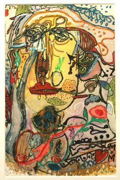 Sans titre, 1965 huile sur papier