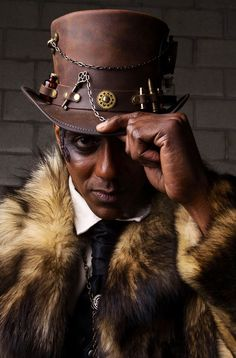 Steampunk'd is the best place where you can find images, videos, photos, books and information related to the steampunk, dieselpunk and atompunk subcultures. Chat Steampunk, Style Steampunk, Steampunk Men, Steampunk Couture, Victorian Steampunk, Steampunk Fashion, Steampunk Witch, Modern Victorian, Gothic