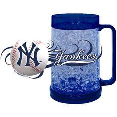 New York Yankees Full Color Crystal Freezer Mug