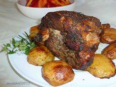 Greek Roast Leg of Lamb with Potatoes