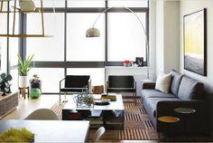 Sabrina Soto's Living Room for Rue Magazine. Photo by Emily Johnston-Anderson. #modern #hgtv
