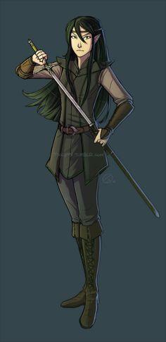 Arya, Queen of the Elves