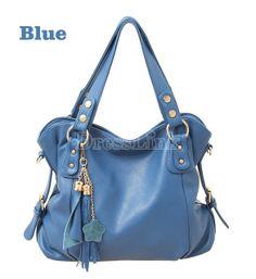 US$ 14.00 Women's Tassel Shoulder Tote Handbags