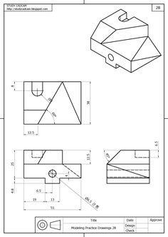 isometric drawing exercises with answers google search. Black Bedroom Furniture Sets. Home Design Ideas